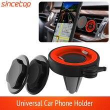 לא מגנטי מכונית טלפון בעל עבור iPhone ברכב האוויר Vent הר אוניברסלי נייד Smartphone Stand מהיר הר תמיכה סלולרי מחזיק