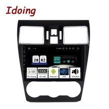 "Idoing 9"" Car Android10 Radio Multimedia Player For Subaru WRX 2016 2019 PX5 4G+64G Octa Core GPS Navigation 2.5D IPS TDA 7850"