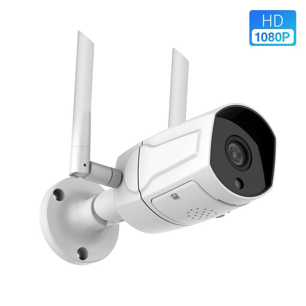 Cámara IP de nube 1080P P2P, cámara IP para exteriores, cámara IP HD inalámbrica, 36 piezas luz IR ONVIF IP66, cámara de visión nocturna resistente a la intemperie SDETER 1080P Mini cámara inalámbrica WiFi, cámara de seguridad IP CCTV, visión nocturna IR, detección de movimiento, Monitor de bebé P2P