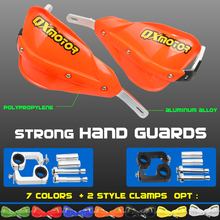 """Motorcross אופני עפר כידון HandGuards עבור KTM CRF YZF KXF 7/8 """"22mm או 1 1/8 28mm שומן בר אופנוע handguards"""