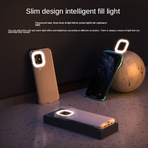 Image 5 - Capa de celular com flash e luz de led, para iphone 7, 8, x, xs max, xr, 12, 12 pro max, 12