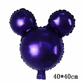Giant Mickey Minnie Mouse Balloons Disney cartoon Foil Balloon Baby Shower Birthday Party Decorations Kids Classic Toys Gifts 12