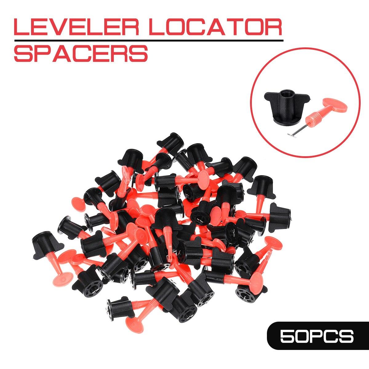 New 50pcs/set Level Wedges Tile Spacers Leveler Locator Spacers Plier For Flooring Wall Tile Carrelage Leveling System