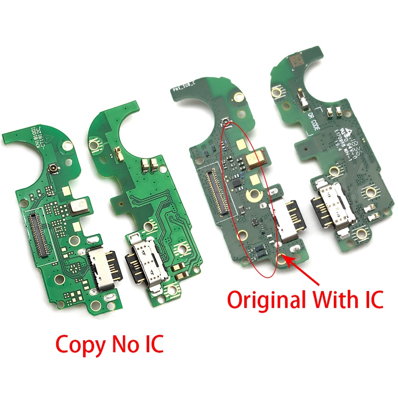 10Pcs/Lot,<font><b>Charger</b></font> Board PCB Flex For <font><b>Nokia</b></font> <font><b>8.1</b></font> X7 USB Port Connector Dock Charging Ribbon Cable image