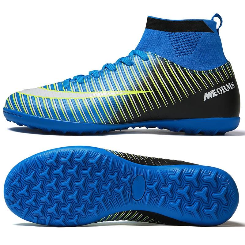 blue turf spikes