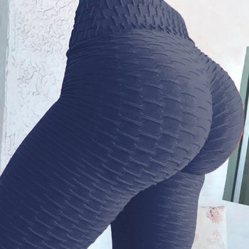 JGS1996 Women's High Waist Yoga Pants Anti-Cellulite Slimming Booty Leggings Workout Running Butt Lift Tights 9