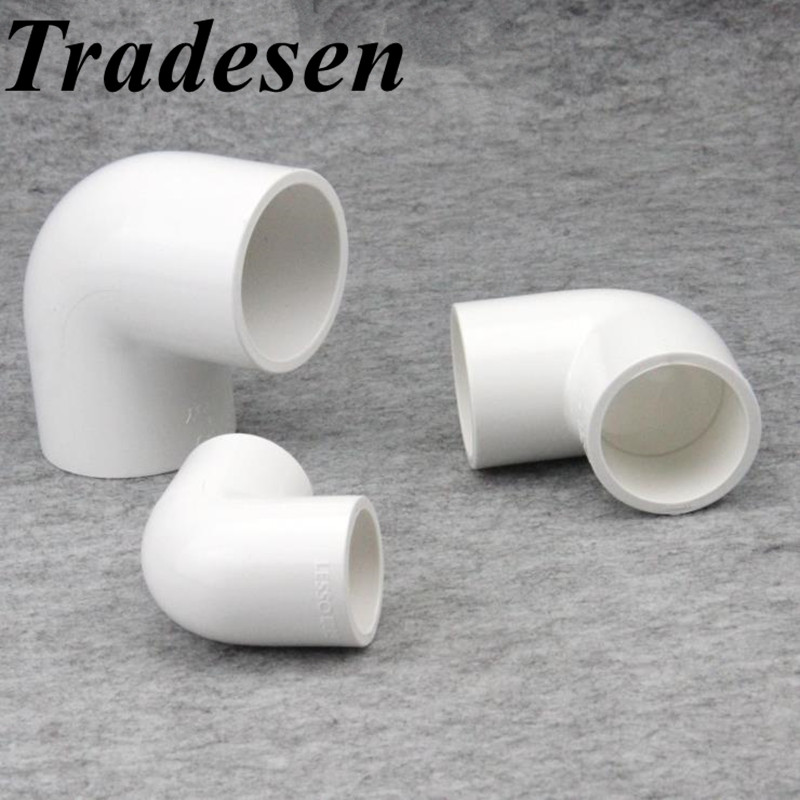 PVC Inside Diameter 20/25/32/40/50mm Water Supply Pipe Fittings Elbow Connectors Plastic Joint Irrigation Water Parts