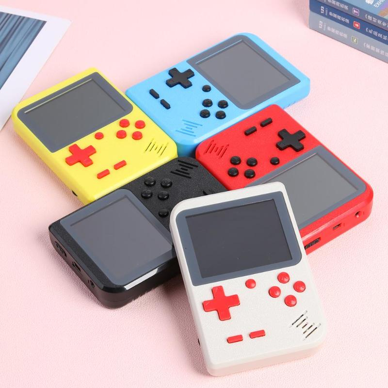 GC26 Portable Video Game Console Built-in 500 Classic Games Retro Handheld Mini Pocket Game Player Gift for Child Nostalgic Play