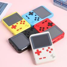 GC26 taşınabilir Video oyunu konsolu dahili 500 klasik oyunlar Retro el Mini cep oyun oyuncu hediye için çocuk nostaljik oyun