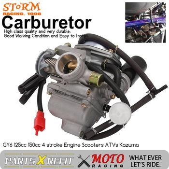 Uniwersalny Carburador 24mm 4T dla Yamaha GY6 110cc 125cc 150cc skuter motorower PD24J CVK gaźnik CARB ATV quady gokartowy BUGGY tanie i dobre opinie JFGRACING CN (pochodzenie) 0 72kg 12cm