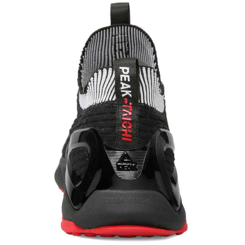 الذروة TAICHI الرجال التكيف احذية الجري خفيفة الوزن تنفس امتصاص أحذية رياضية عدم الانزلاق ارتداء الراحة أحذية رياضية