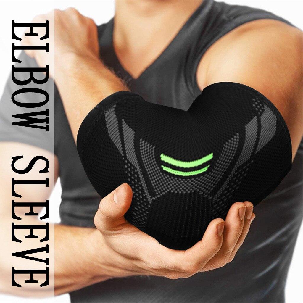 Elbow pads cinta compressão suporte manga 2020 adultos elásticos elbow band capa proteção de lesão manga almofada reduzir a dor S--XL