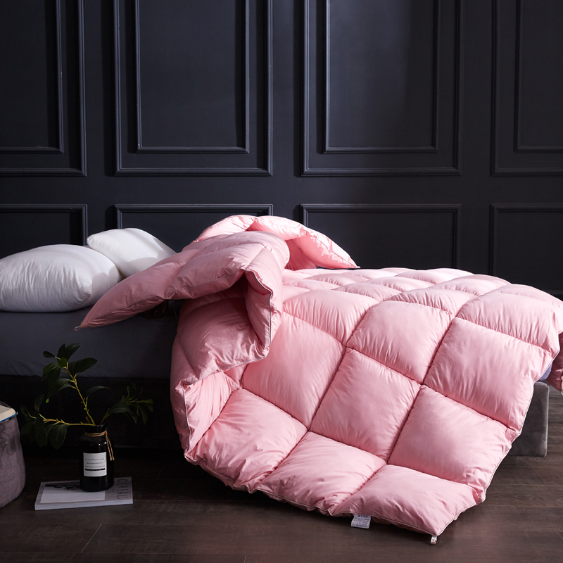 SF Very Warm Winter Blanket Comforter Filler Pure Color Winter Quilt Duvet 1.5~3kg Weigte King Queen Twin Size Down Quilt Duvet