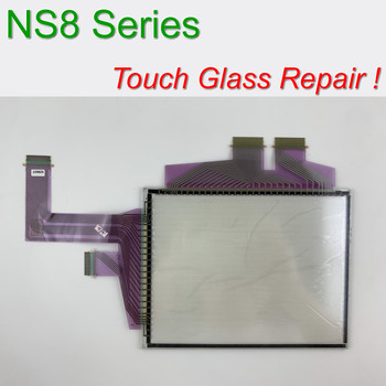 Original NS8-TV00B-ECV2 Touch Screen Glass for HMI operation Panel repair~do it yourself, Have in stock