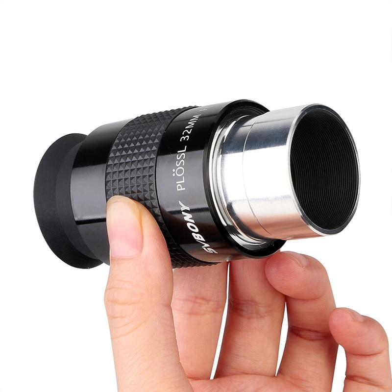 Tools : SVBONY 1 25inch PL 32mm Plossl Astronomical Telescope 46 De Eyepiece Standard Threaded 4-Element Plossl Design W9101A