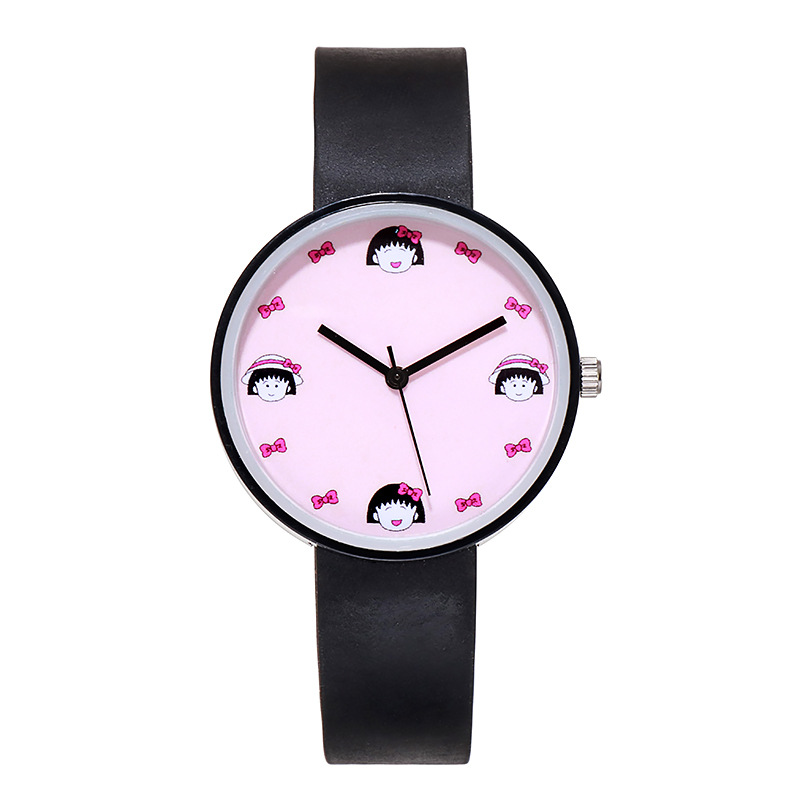 Little Girl Avatar Dial Kids Watches Women Soft Silicone Band Children Watch Boys Baby Wrist Watch Child Clock Relogio Infantil