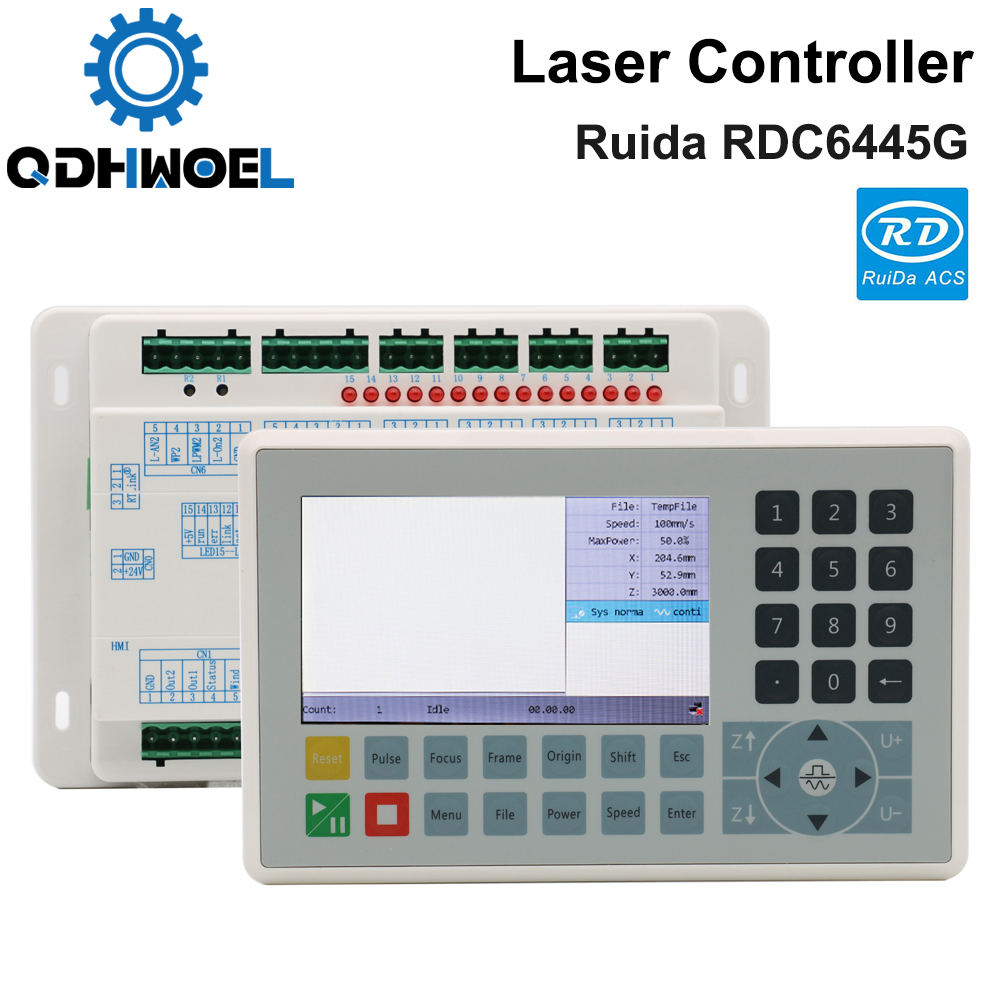 Ruida RDC6445 RDC6445G Co2 Laser Controller For Laser Engraving Cutting Machine Upgrade RDC6442 RDC6442G