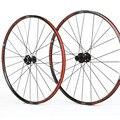 29 дюймов MTB горный велосипед двойной круг герметичный подшипник через оси колеса колесная обода