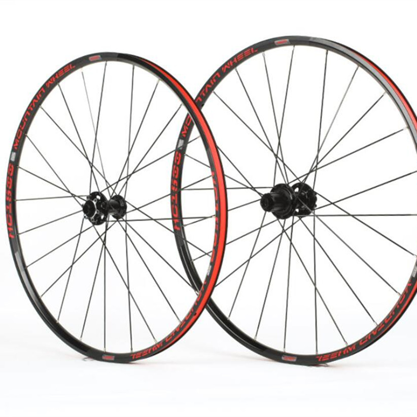 29inch MTB Mountain Bike Bicycle Double Circle Sealed Bearing Thru axis Wheels Wheelset Rims|Bicycle Wheel|   - title=