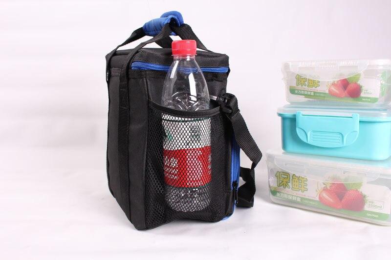 alimentício leakproof isolado almoço saco térmico em duplo almoço tote para homens