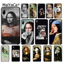 Mona Lisa Phone Case Art Paint Pattern Cover Luxury Case For Xiaomi Mi A1 A2 Lite Redmi Note 2 3 4 4x 5 5a 6 Accessories mona lisa phone case art paint pattern cover luxury case for xiaomi mi a1 a2 lite redmi note 2 3 4 4x 5 5a 6 accessories