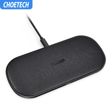 Choetech Fast Wireless Charger Pad For iPhone Xs Max X 8 Wireless Charging Pad For Samsung Galaxy S9 S8 Xiaomi Mi mix 2s Huawei mi wireless charging pad