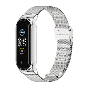 Image 5 - Band Voor Xiaomi Mi Band 6 5 Horloge Band Metalen Correa Miband 4 Nfc Armband Opaska Voor Mi 3 Band