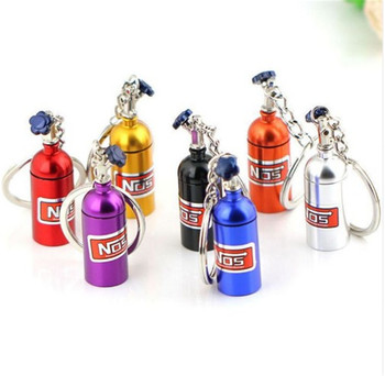 car Oxide Bottle Keychain Keyring Pill Box for Mercedes Benz W211 W203 W204 W210 W124 AMG W202 CLA W212 W220 CLK63 R F700 image