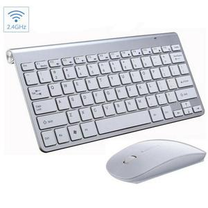 2.4G Wireless Silent Keyboard And Mouse For Notebook Laptop Desktop PC Mini Multimedia Full-size Keyboard Mouse Combo Set