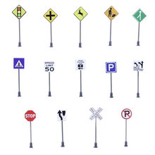 14 шт n образные дорожные знаки для поезда