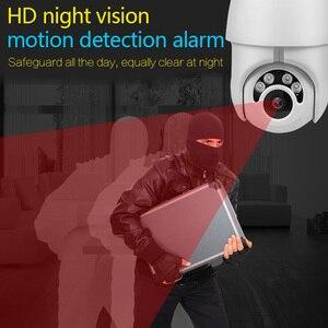 Image 4 - Wireless IP Camera CCTV Camera Security System Kit 4pcs 1080P SD Card Cloud storage Two Way Audio Home Video Surveillance Kit