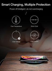 Image 5 - Qi Fast Charging Pad For Huawei Mate 30 pro 5G Mate 20 RS Porsche Design P30 Pro Honor V30 Pro Wireless Charger Phone Accessory
