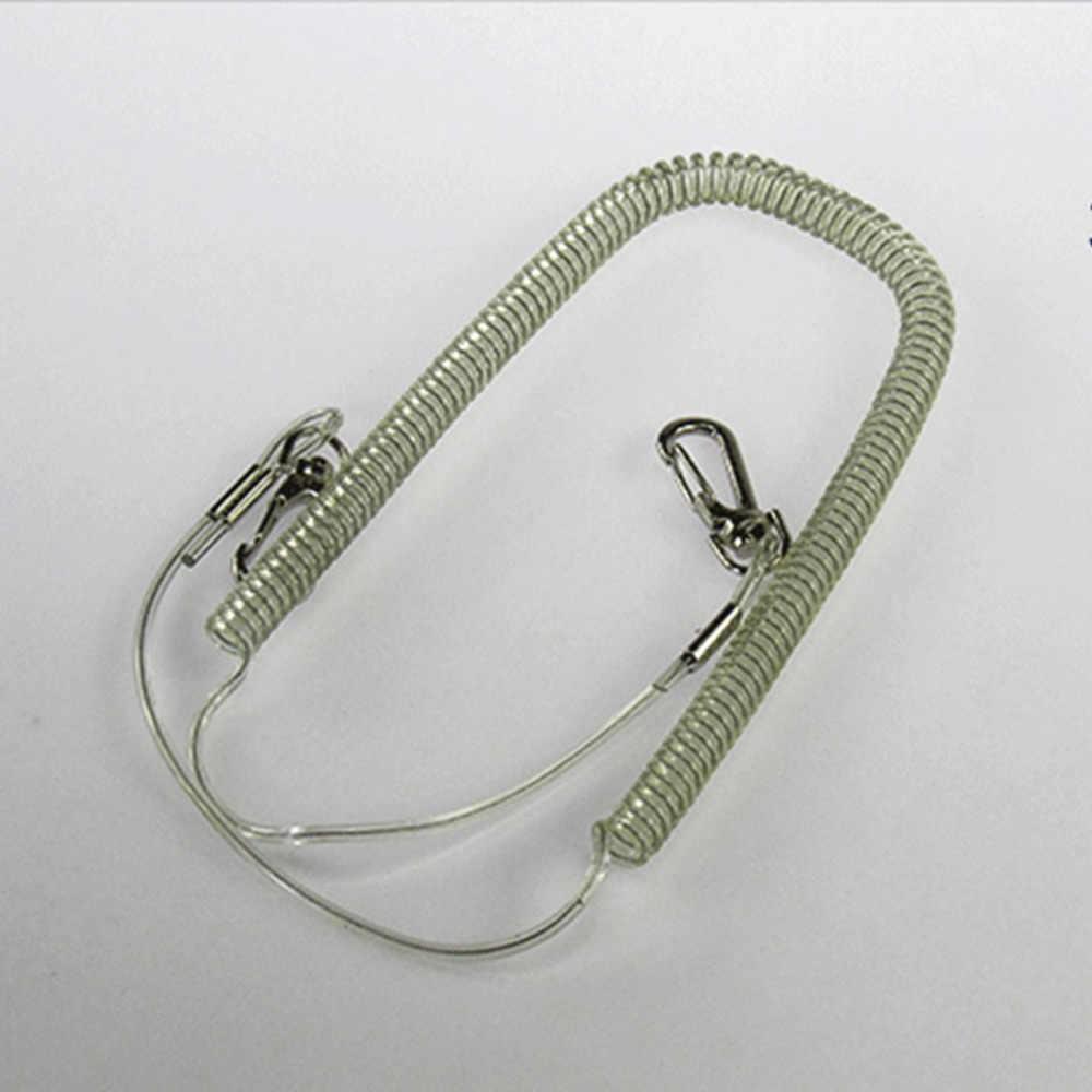 Fil télescopique perdu corde accessoires de pêche allongé canne à poisson protection outils de pêche empêcher la perte de tige