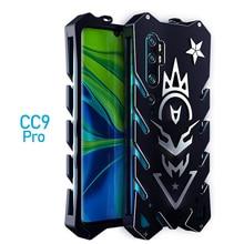 For Xiaomi Mi Note 10 Zimon Luxury New Thor Heavy Duty Armor Metal Aluminum Phone Case For Xiaomi Mi Note 10 Pro Case
