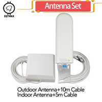 ZQTMAX 25dBi 2g 3g 4g антенна для сотового телефона усилитель сигнала сотовой связи UMTS LTE усилитель сети gsm ретранслятор и кабель