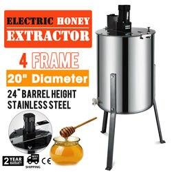 4 rama 110v sprzęt pszczelarski duża miodarka elektryczna ze stali nierdzewnej w Części do robotów kuchennych od AGD na