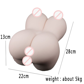 Sex Doll 5kg Silicone Big Ass 3D artificial vagina Anus Sex Toys for Men Male masturbator cup Masturbate for man pour homme image