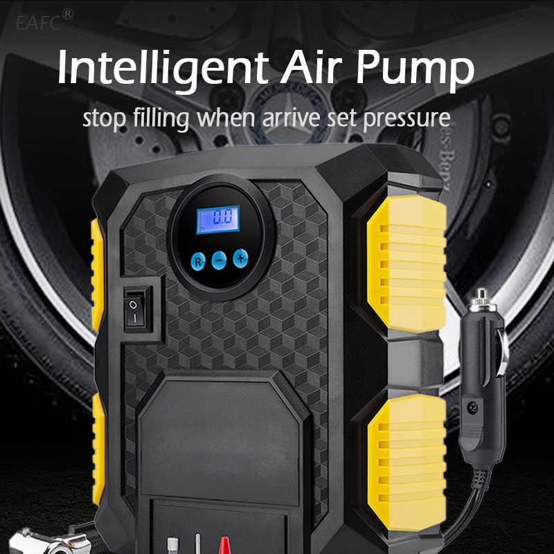 Inflador de neumáticos Digital DC 12 voltios, bomba de compresor de aire portátil para coche 150 PSI, compresor de aire para coche, motocicletas, bicicletas