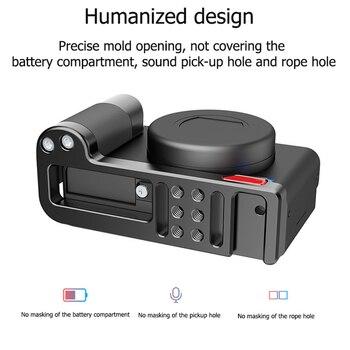 Soporte de placa Base de expansión de Metal y expansión de micrófono soporte de placa L de liberación rápida para cámara Sony ZV1 R054 R055