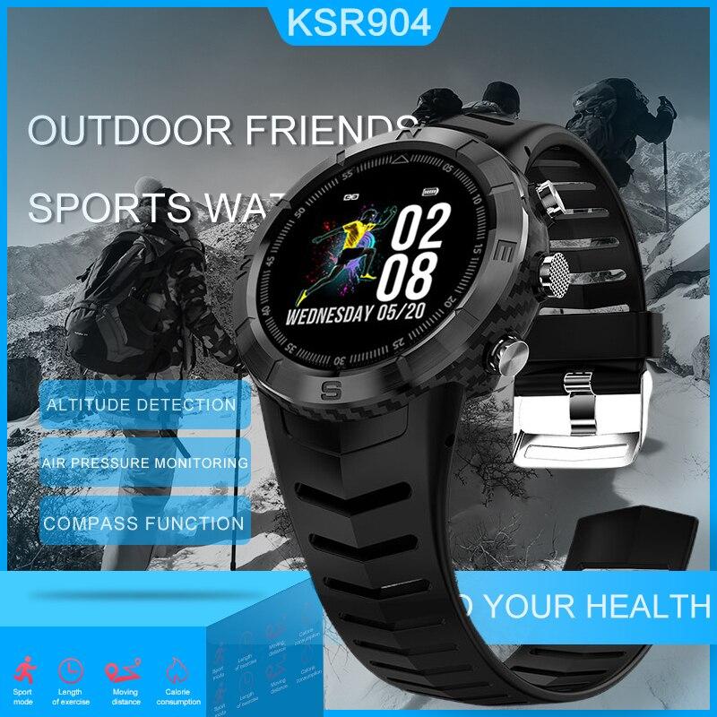 KSUN KSR904 hommes Sport podomètre montre intelligente IP68 étanche Fitness Tracker moniteur de fréquence cardiaque femmes horloge Smartwatch
