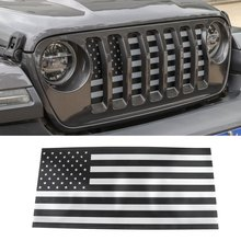 Front Grill Mesh Insert Bug Sn Insert Grille for Jeep Wrangler JL JLU 2018-2019 Car Accessorie(Black)(China)