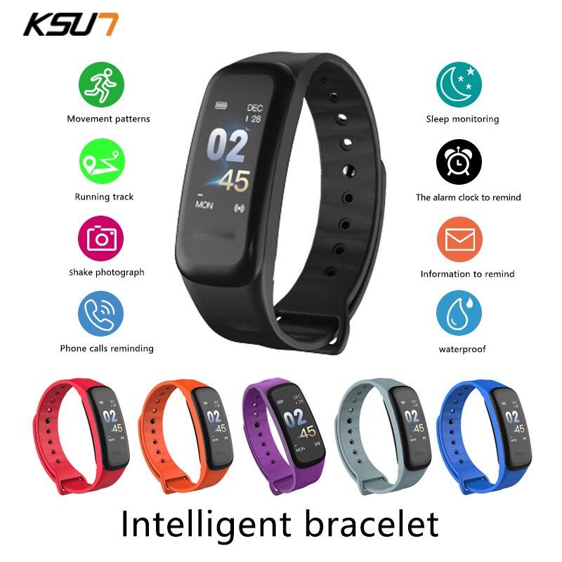 Мужские и женские умные часы KSUN KSS709 с пульсометром и тонометром, фитнес трекер, умные часы, спортивные часы, умный Браслет Смарт-браслеты      АлиЭкспресс