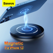 Baseus Qi Magnetic Wireless Charger For iPhone 12 Pro Max PD 15W Fast Charging For iPhone 12 mini 11 XS XR Magnetic Safe Charger