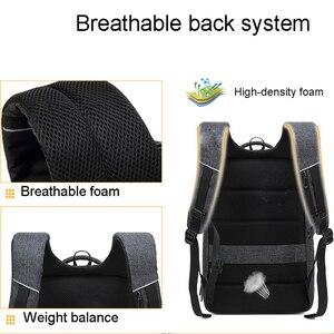 Image 5 - Противоугонный мужской рюкзак Mochila для деловых поездок 15,6 дюймовый рюкзак для ноутбука для женщин и мужчин водостойкий школьный рюкзак для компьютера
