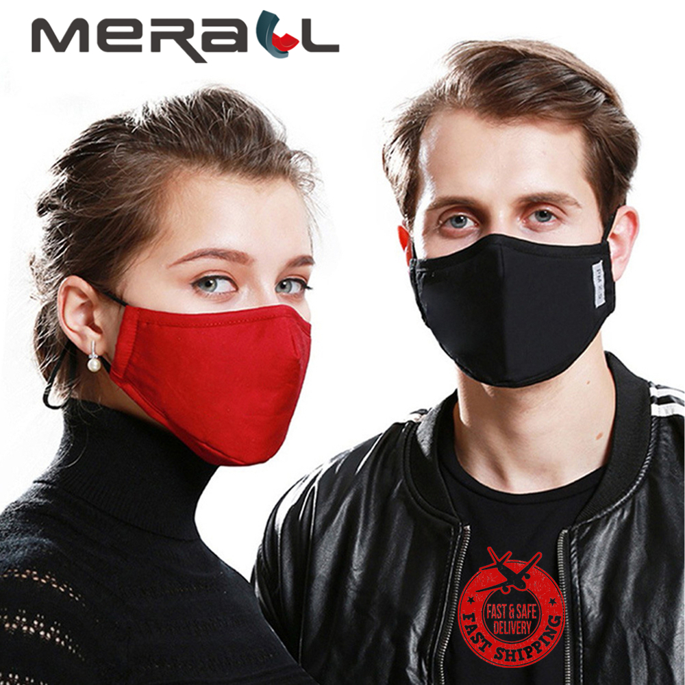 Cotton PM2.5 Adult Mouth Mask Anti Dust Mask Activated Carbon Filter Windproof Mouth-muffle Bacteria Proof Flu Face Masks Care