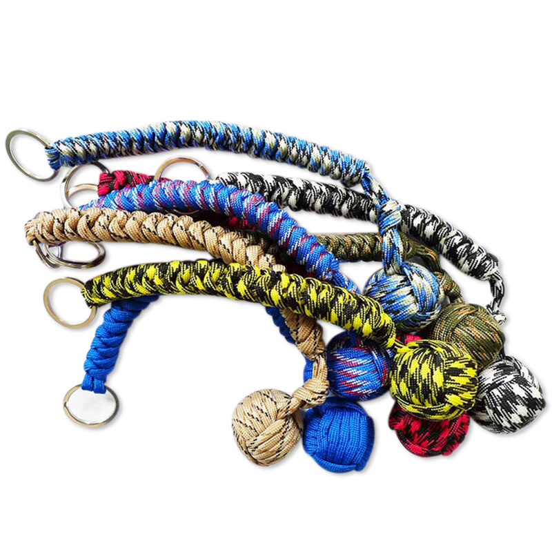 Closeout DealsSteel-Ball Keychain Self-Defense-Stick Monkey Fist EDC Safety Survival Girl Outdoor-Security