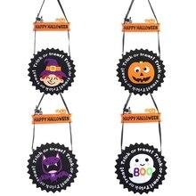 Hap Halloween Trick Or Treat Hanging Ornament Wall Door Window Decoration Props Party Supplies