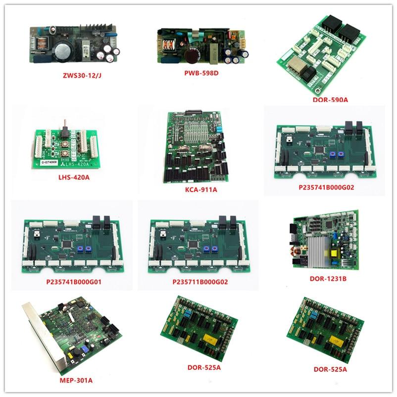 ZWS30-12/J|PWB-598D|DOR-590A|LHS-420A|KCA-911A|P235741B000G02|P235741B000G01|P235711B000G02|DOR-1231B/1231A|MEP-301A|DOR-525A