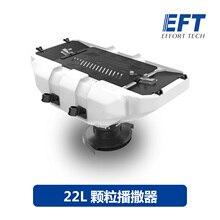 Система расширителя семян EFT 22 кг 22 л для сельскохозяйственного дрона, удобрения для семян, удобрения, наживка, оборудование для расшириния частиц для E410, E610, E616