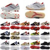 2019 top quality mens soccer shoes PREDATOR ACCELERATOR Electricity FG soccer cleats indoor football boots botas de futbol Gold|Soccer Shoes| |  -